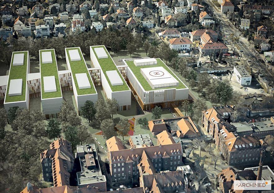 Mieszkańcy Starego Grunwaldu mają zastrzeżenia do nowego szpitala klinicznego