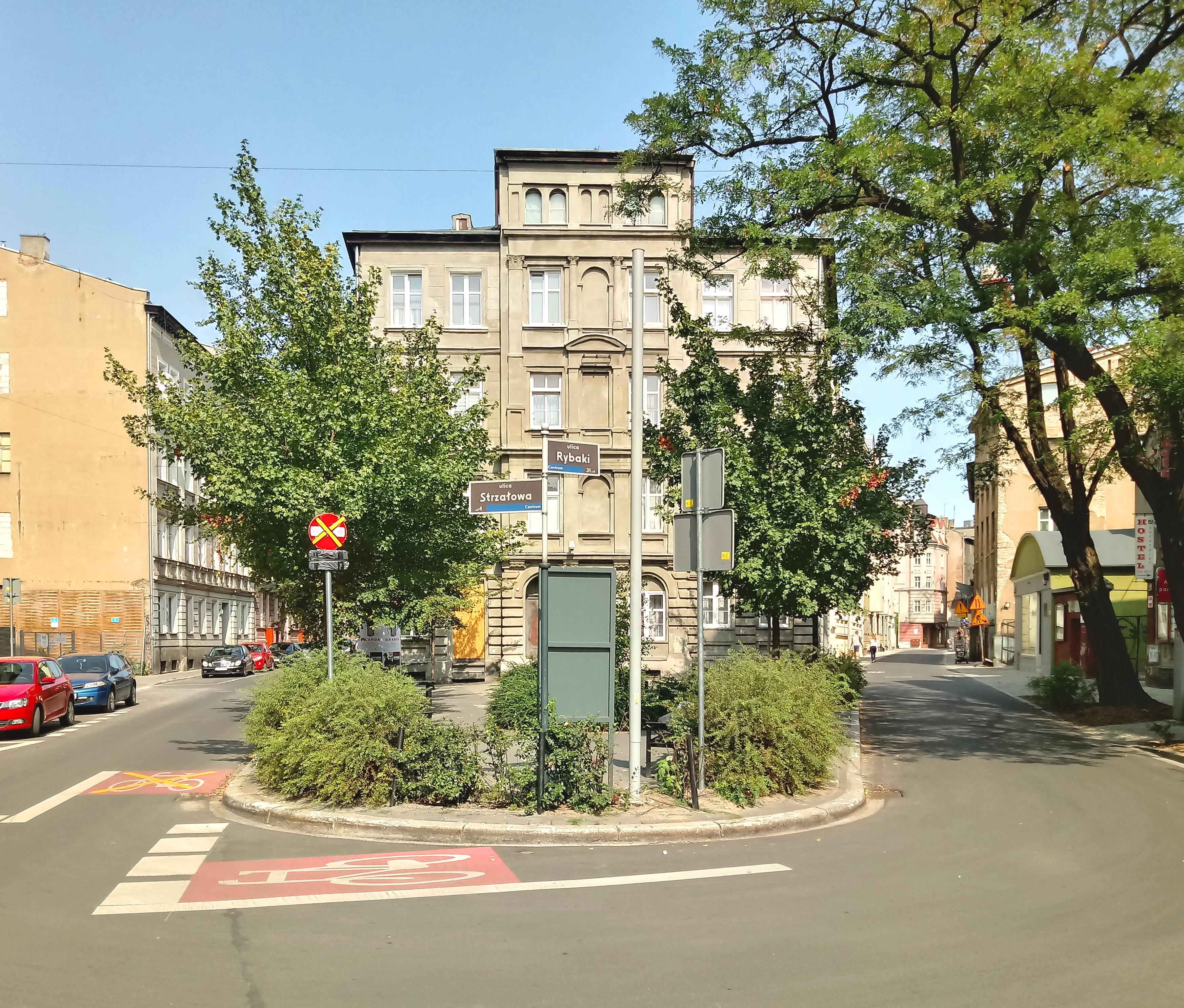 Rowerzyści wskazują błędy projektowe ulicy Rybaki