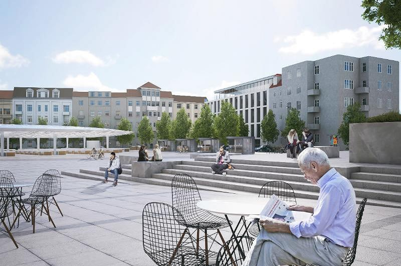 Kolejne opóźnienia projektów w centrum Poznania