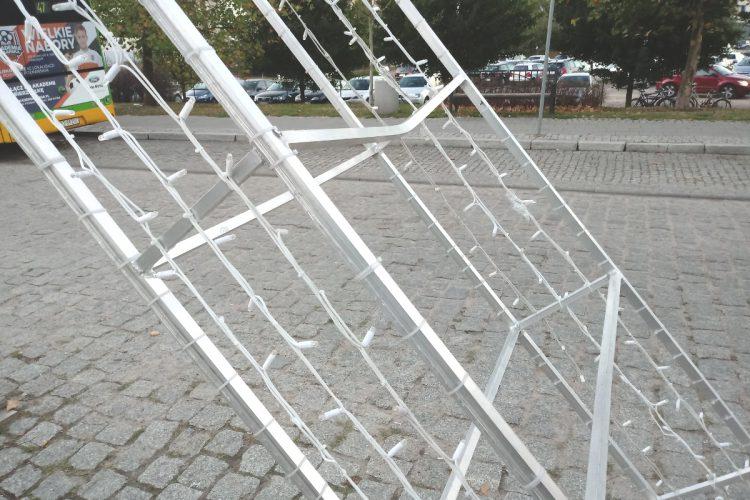 Most Chwaliszewski makieta zniszczenie naprawa Enea 1