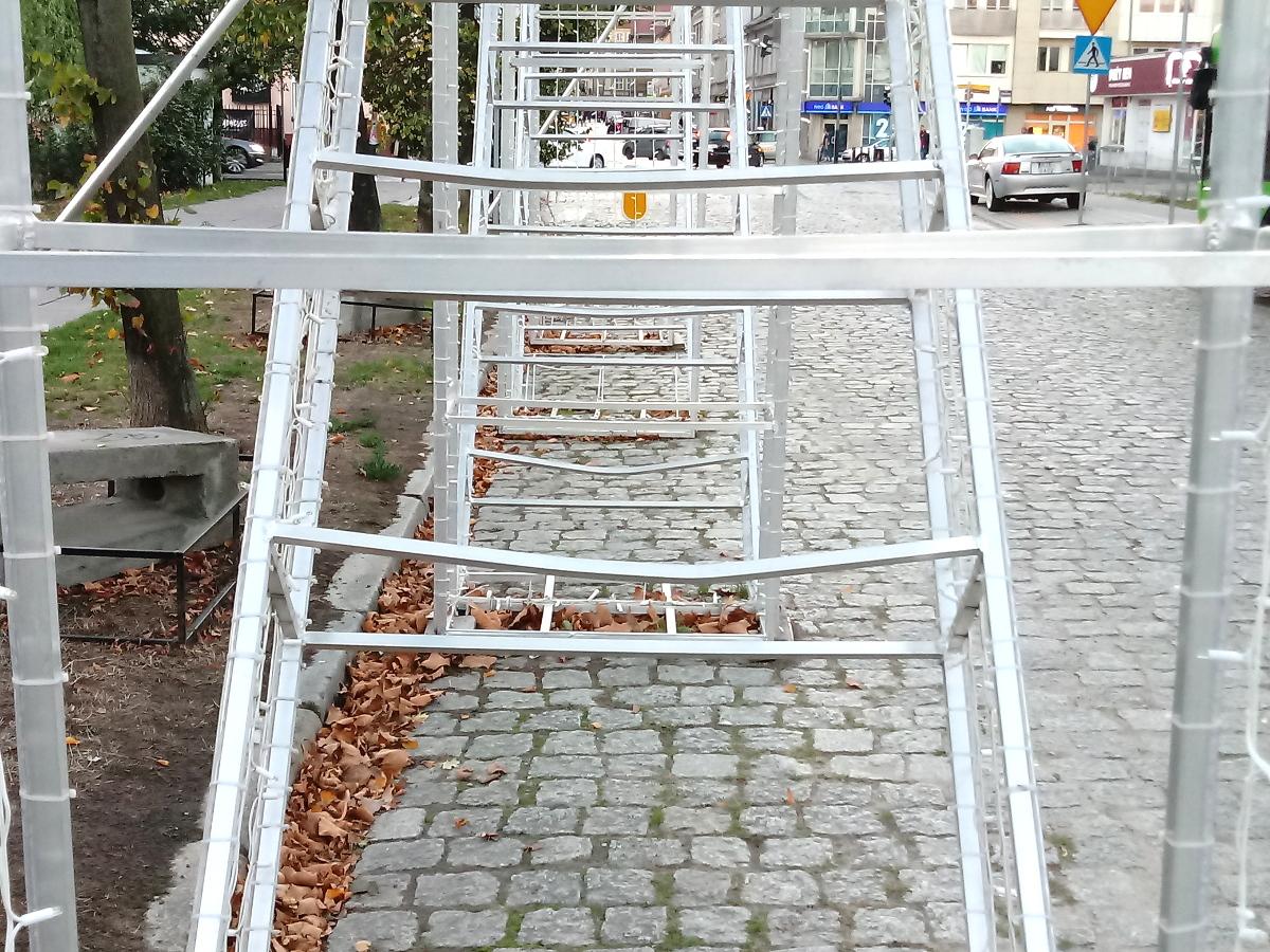 Most Chwaliszewski makieta zniszczenie naprawa Enea 2