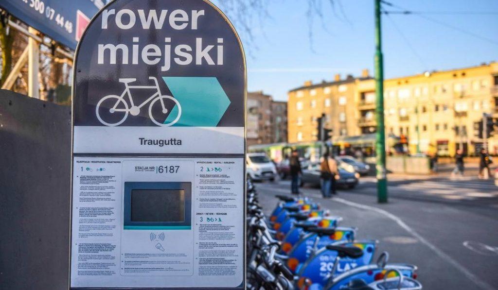 Poznański Rower Miejski Poznań rowery bicykle