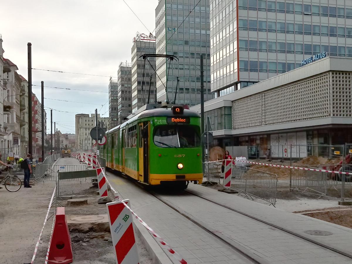 Święty Marcin dzień bez samochodu tramwaj korki