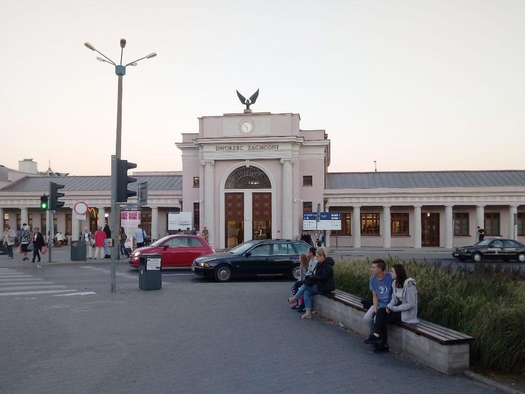 Dworzec Zachodni Poznań PKP 1