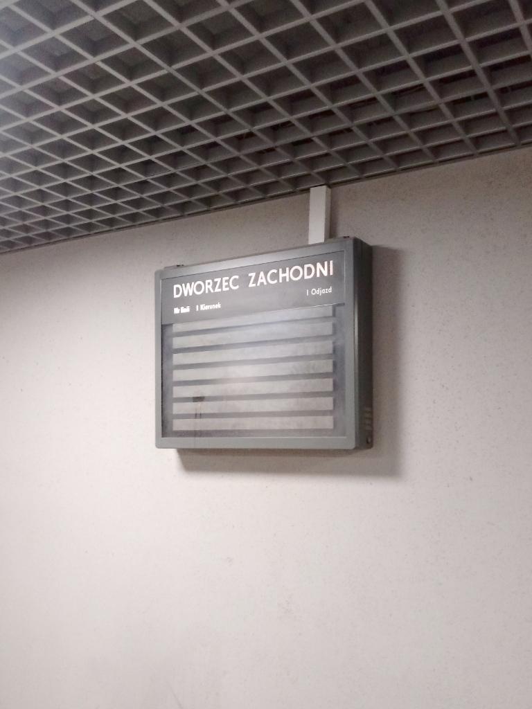 Dworzec Zachodni Poznań PKP 12