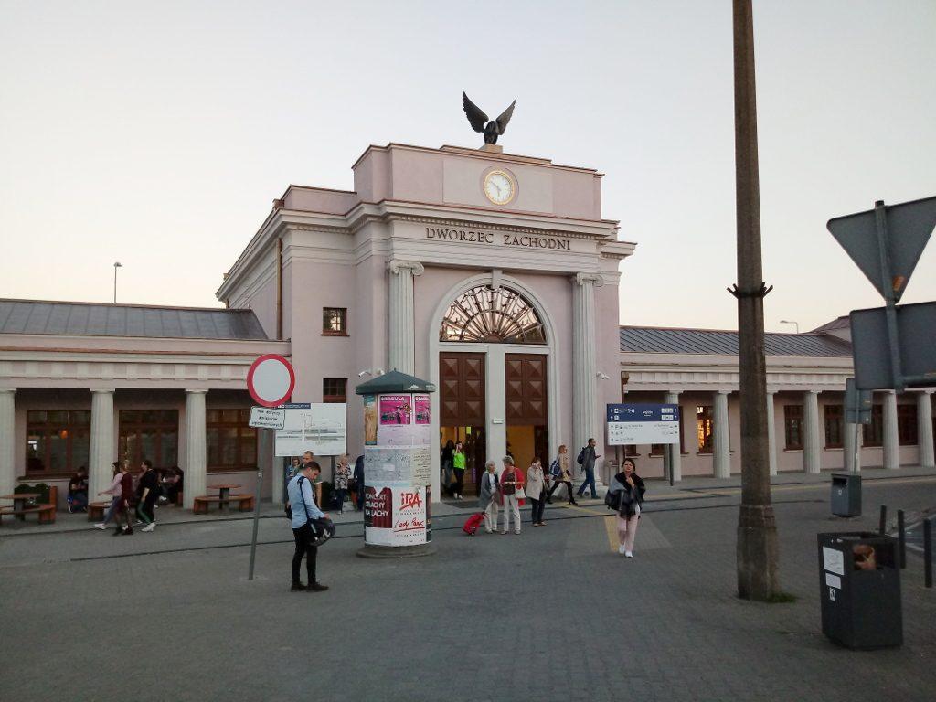 Dworzec Zachodni Poznań PKP 3