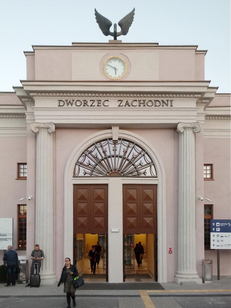 Dworzec Zachodni Poznań PKP 5