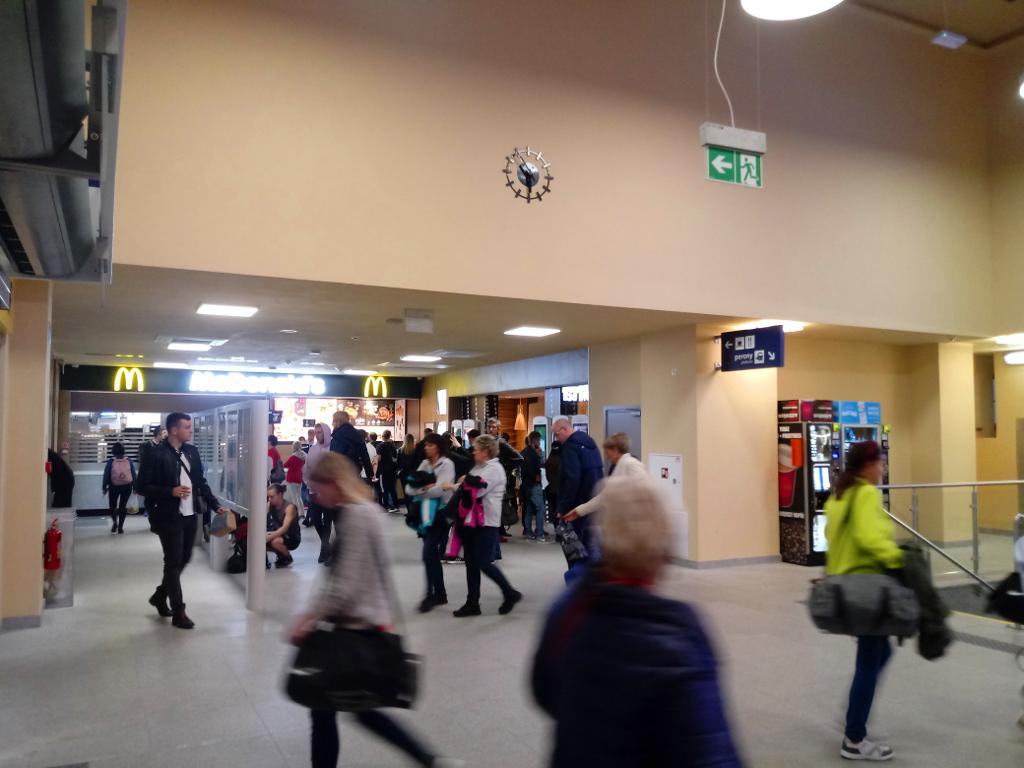 Dworzec Zachodni Poznań PKP 8
