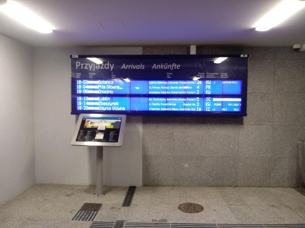 Dworzec Zachodni Poznań PKP 9