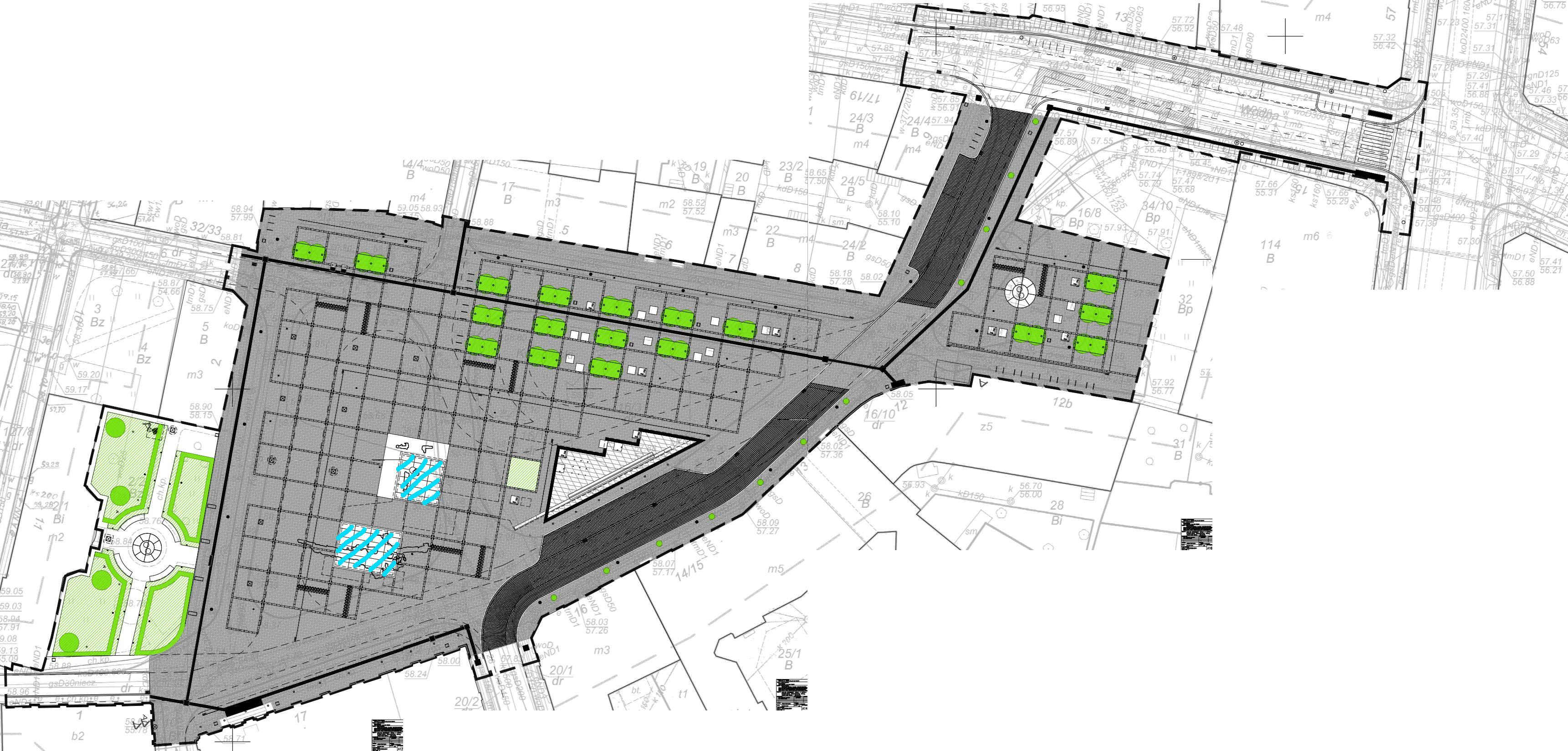 Plac Kolegiacki Poznań przebudowa projekt