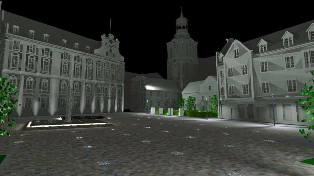 Plac Kolegiacki Poznań przebudowa wizualizacja 2