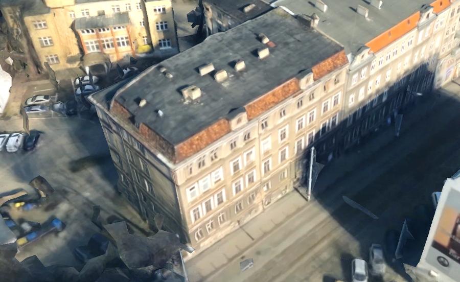 Poznań Podgórna 7 Nowa Podgórna wyburzenie kamienicy