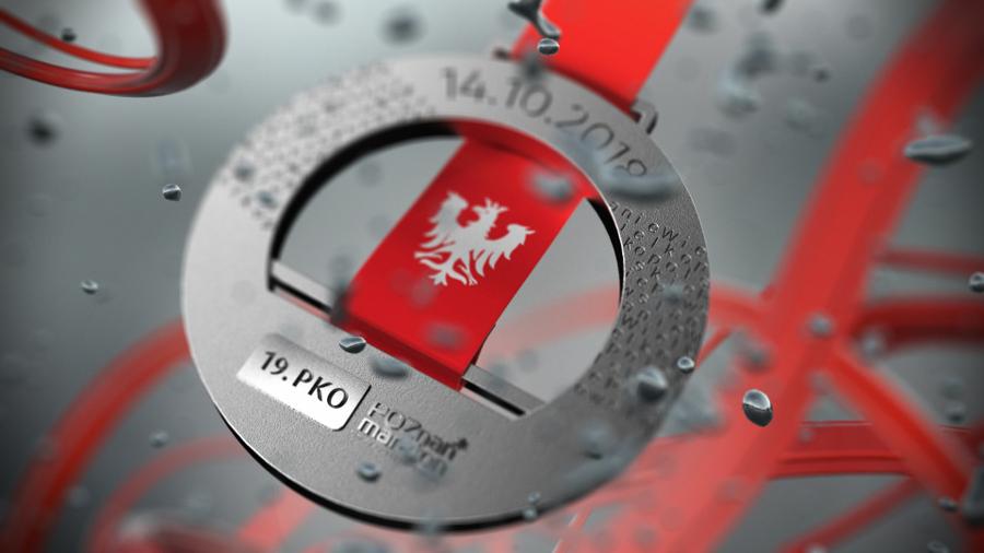 19. PKO Poznań Maraton medal