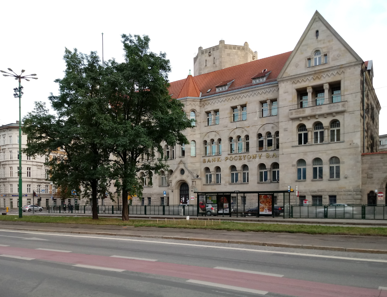 Poznań Święty Marcin fotorelacja zdjęcia drzewa Projekt Centrum 1