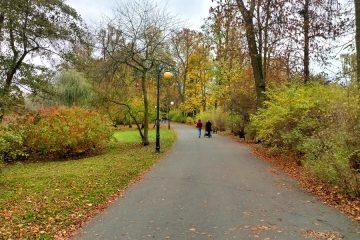 Poznań Park Sołacki pogoda jesień prognoza pogody