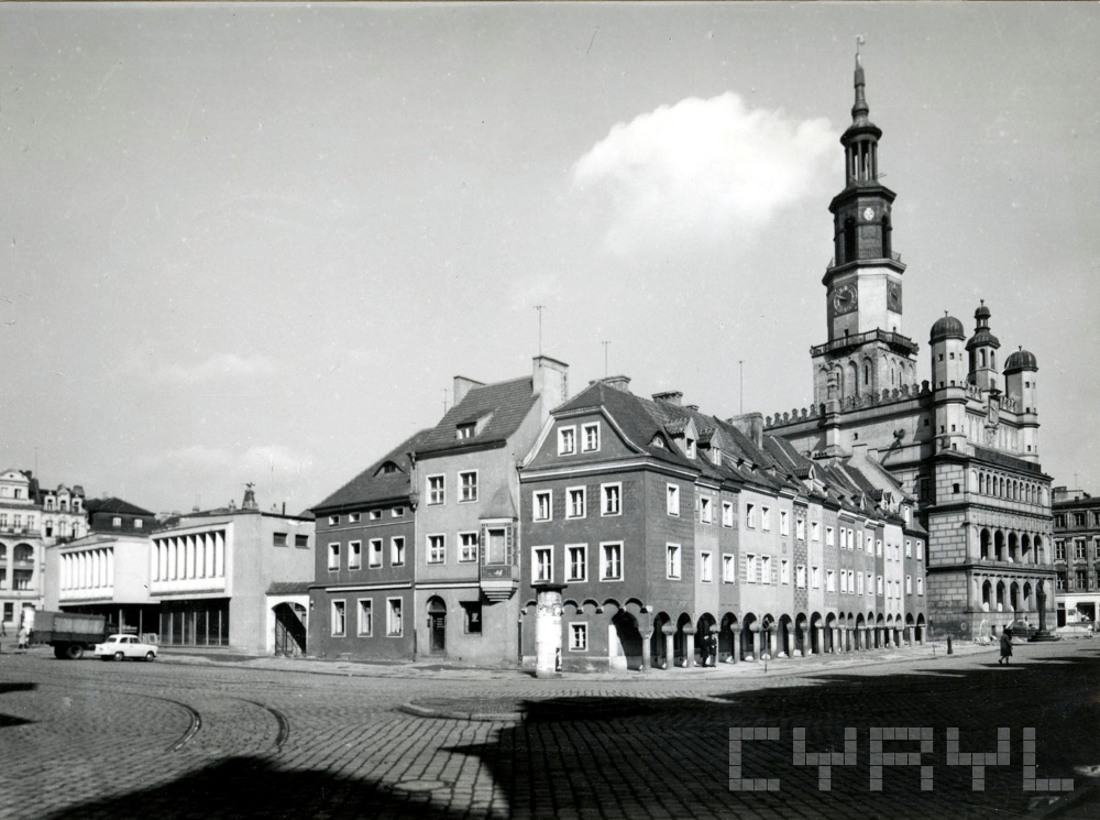 Poznań odbudowa Stare Miasto Cyryl