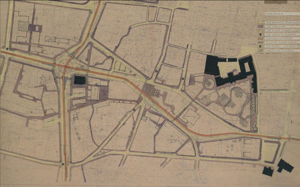 Trasa Piekary Podgórna Poznań projekt plan