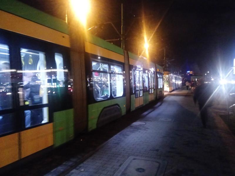 Poznań MPK tramwaj Kórnicka
