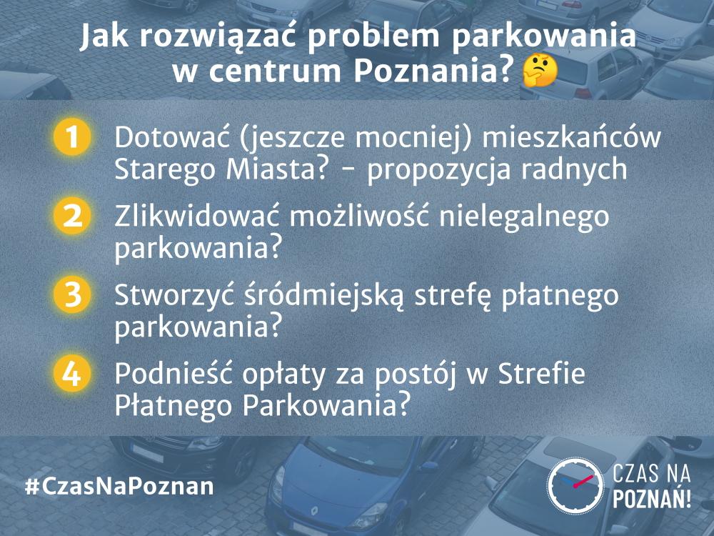 Poznań Stare Miasto parkowanie propozycje