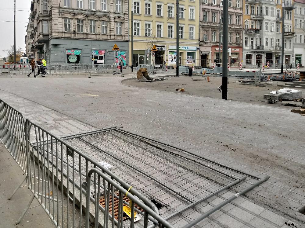 Poznań Święty Marcin fotorelacja listopad 1