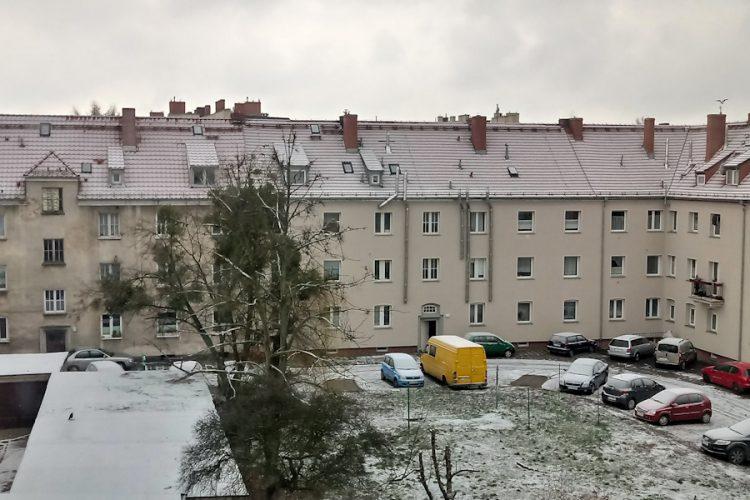 Pogoda Poznań zima śnieg święta