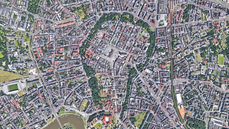 Kraków Planty Poznań Stare Miasto
