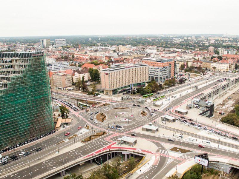 Poznań Rondo Kaponiera