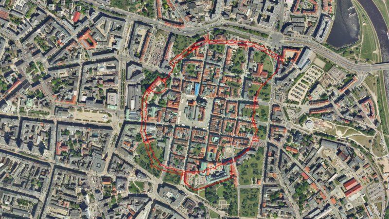 Poznań Stare Miasto rekonstrukcja wyburzenie planty po