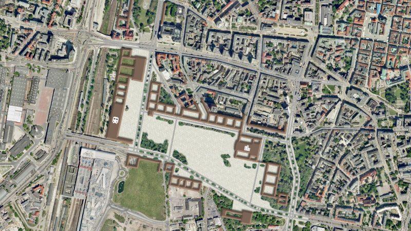 Poznań Weststadt dzielnica rządowa po
