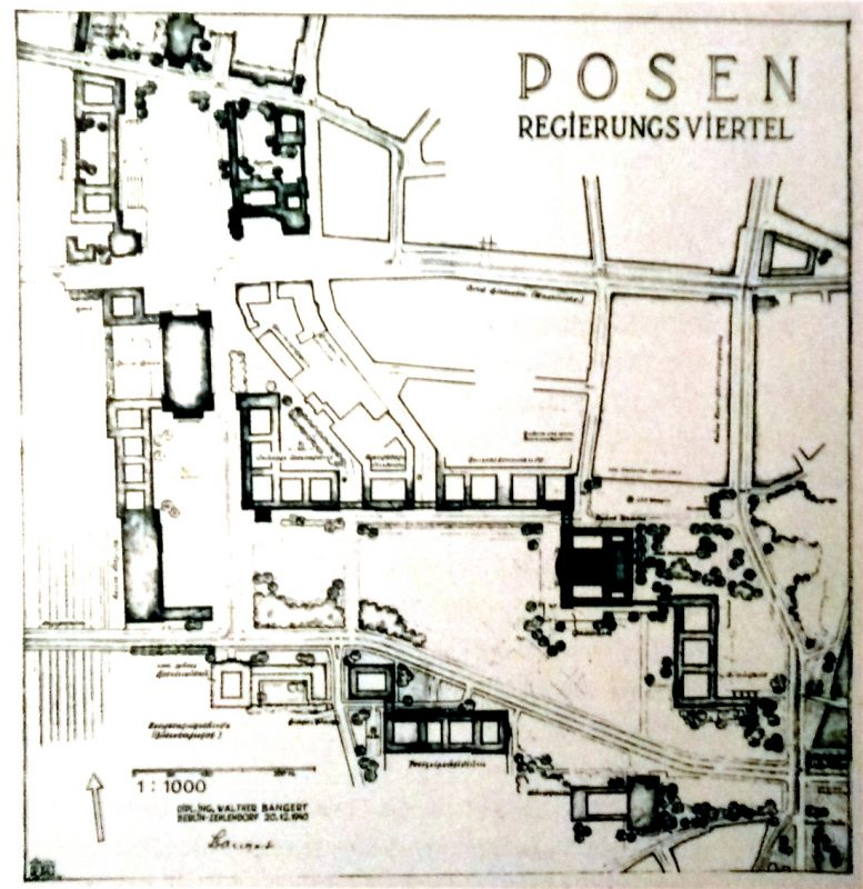 Poznań Weststadt dzielnica rządowa projekt