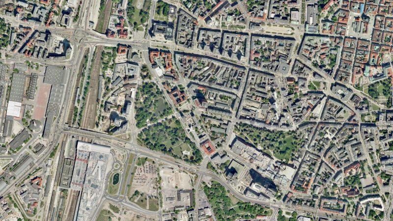 Poznań dzielnica rządowa Weststadt przed