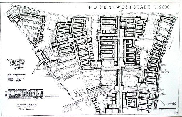Poznań Weststadt projekt wojna