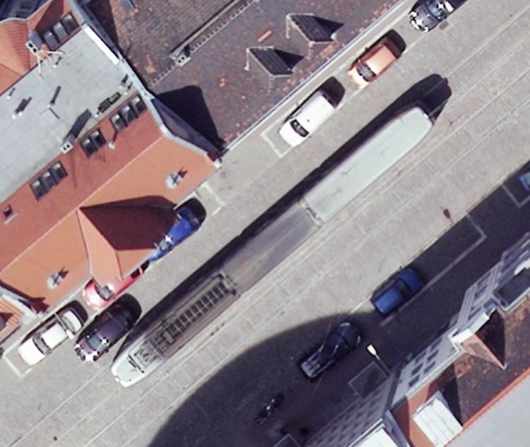 Poznań Mielżyńskiego parkowanie torowisko mpk