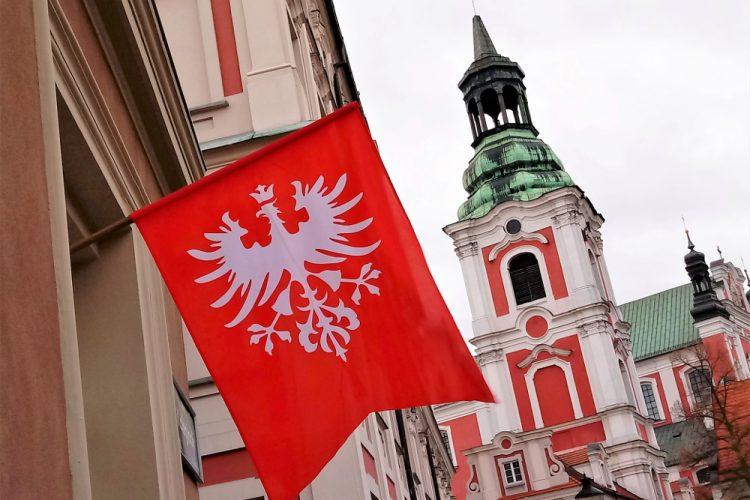 Poznań powstanie wielkopolskie chorągiew obchody
