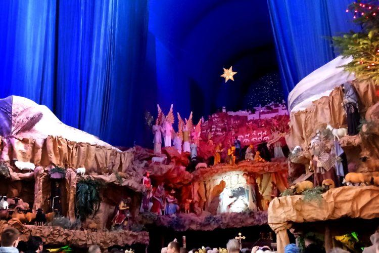 Poznań szopka bożonarodzeniowa franciszkanie