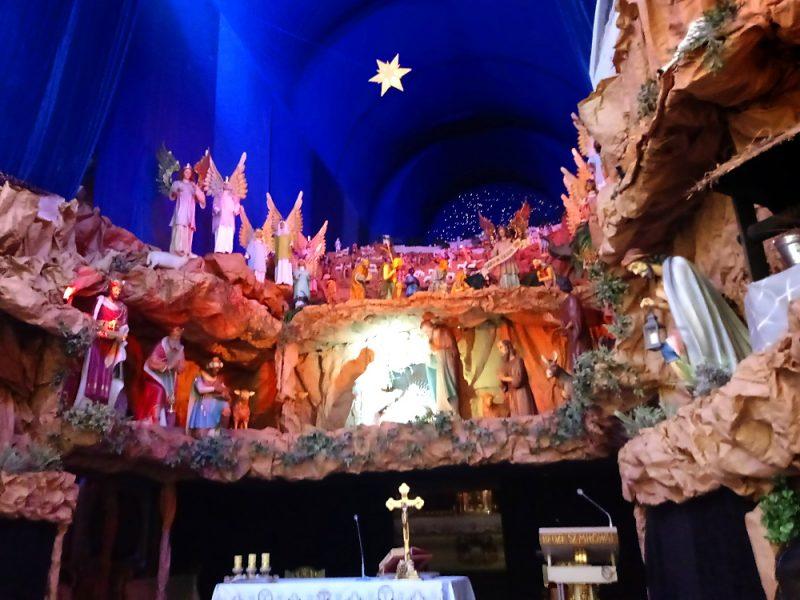 Poznań szopka bożonarodzeniowa franciszkanie Plac Bernardyński