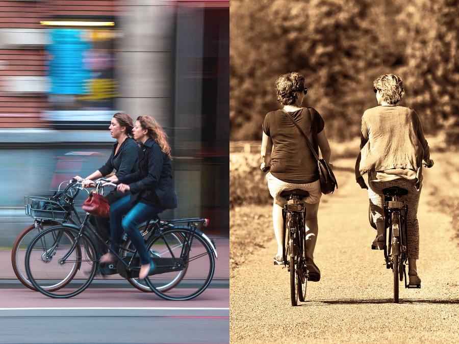 Emeryci i sportowcy: społeczność rowerowa na krawędzi rozłamu