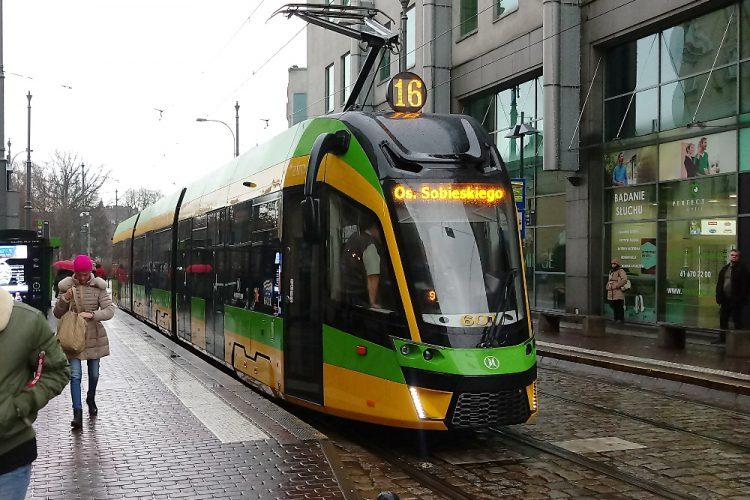Moderus Gamma Poznań tramwaj Modertrans