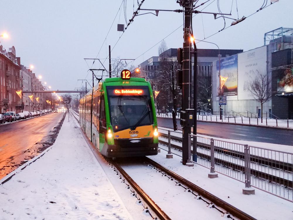 Poznań przykryty śniegiem [ZDJĘCIA]
