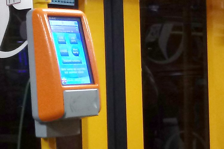 Poznań PEKA transport kasownik