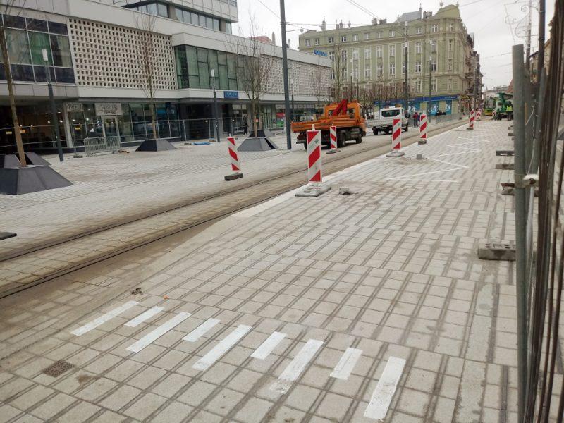 Poznań Projekt Centrum Święty Marcin 7 przystanek