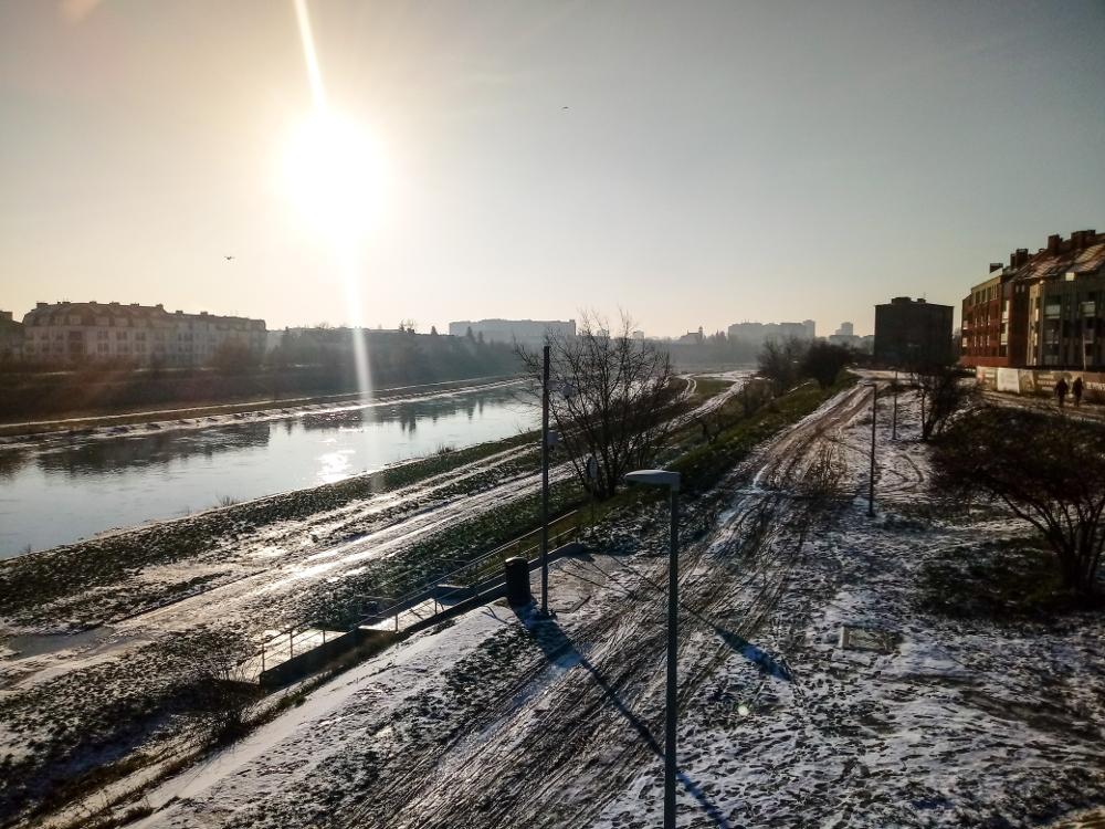 Zmiany klimatu w Poznaniu: coraz cieplejsze zimy