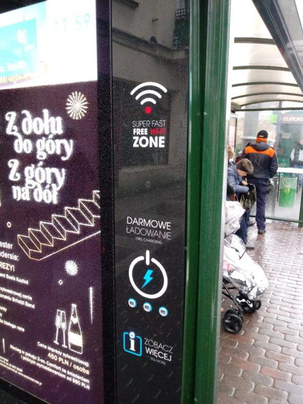 AMS Poznań hotspot digital citylight reklama