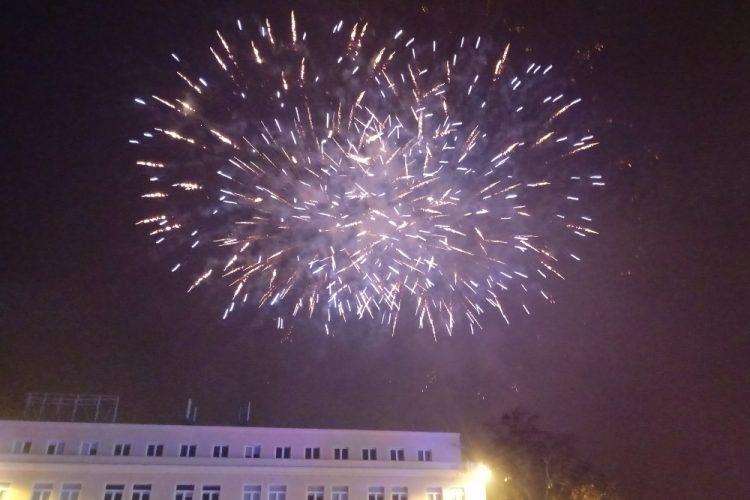 Poznań sylwester Stare Miasto pokaz sztucznych ogni