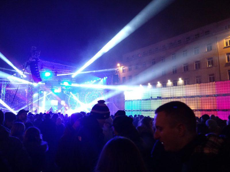 Poznań Plac Wolności sylwester