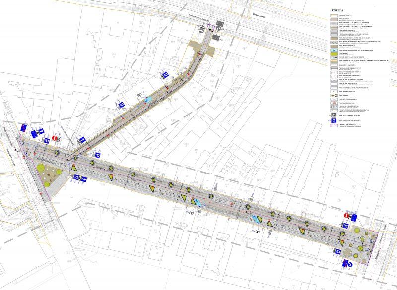 Poznań Taczaka Garncarska budowa Projekt Centrum