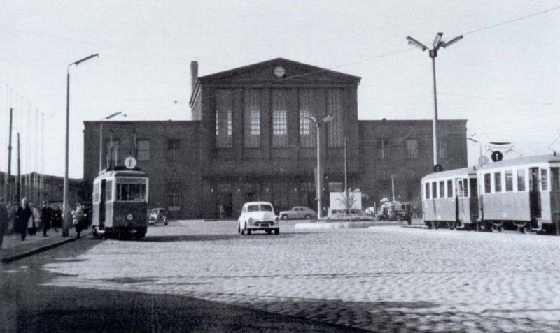 Poznań Główny stary dworzec lata 40