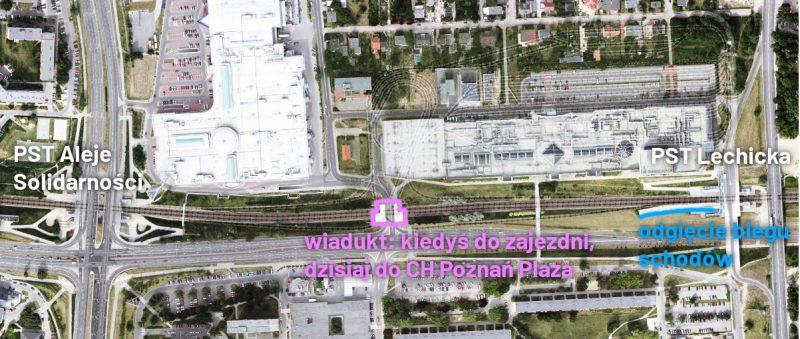 Poznań PST Aleje Solidarności Lechicka zajezdnia
