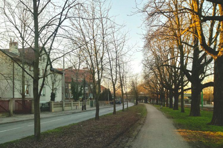Poznań Sołacz Aleja Wielkopolska