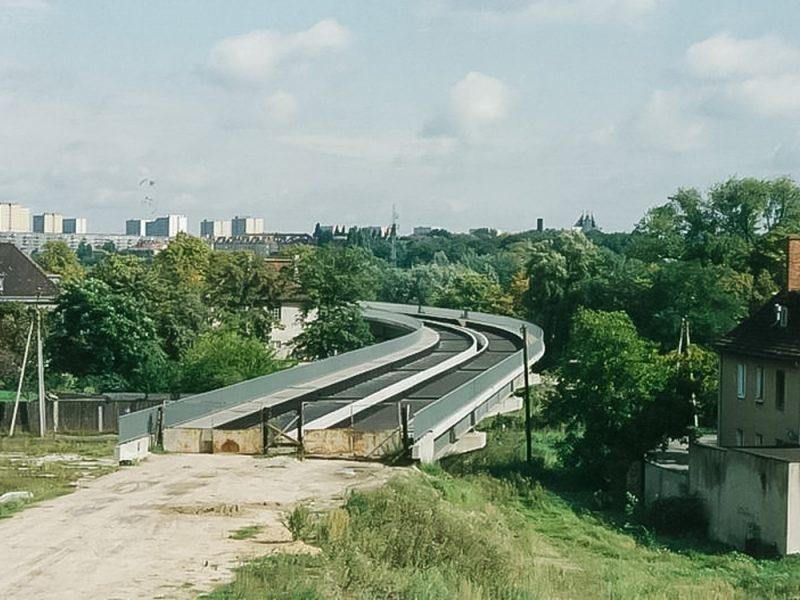 Poznań PST lata 90 estakada